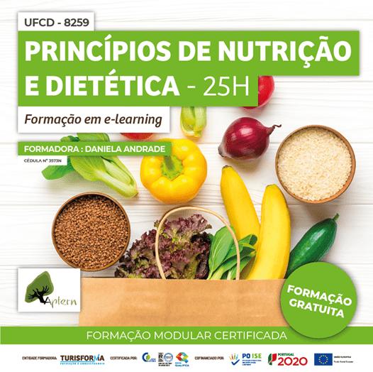 UFCD 8259 - Princípios de Nutrição e Dietética - 25H